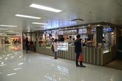 Shops in Metroplaza Kwai Fong, Hong Kong Lizenzfreies Stockbild