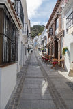 Shops in Mijas, Spain Royalty Free Stock Images