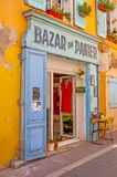 The shops of Panier Royalty Free Stock Photo