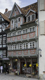 shops in quedlinburg german village Stock Images