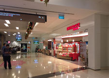 Shops at the Sand Bay shopping mall in Singapore Stock Photography