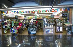 Shops with souvenirs in an airport Costa Rica Stock Image