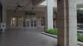 Shops at Village of Merrick Park stock footage
