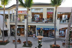The Shops at Wailea in Hawaii Stock Photography
