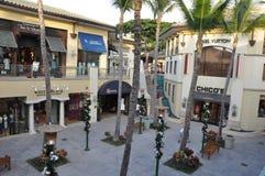 The Shops at Wailea in Hawaii Stock Photo