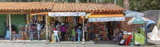 Shops By The Zoo In Mallasa Bolivia Stock Photos