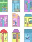 Shopsatz Stockbilder