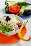 Shopska salad Royalty Free Stock Photography
