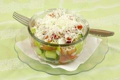 Shopska salad Royalty Free Stock Photo