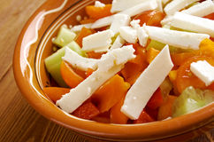 Shopska salad Stock Photography