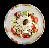Shopska salad Royalty Free Stock Photos