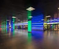 ShopVillepassage van het belangrijkste station van Zürich Stock Foto's