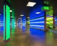 ShopVillepassage van het belangrijkste station van Zürich Stock Fotografie