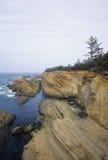 Shore Acres cliffs Stock Photo