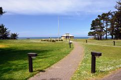 Shore Acres State Park, Charleston Oregon Royalty Free Stock Image