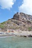 Shore of the Aegean Sea Stock Photo