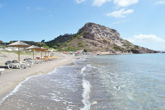 Shore of the Aegean Sea Royalty Free Stock Images