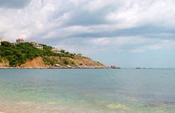 Shore of the Black sea Royalty Free Stock Image