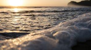 Shore Break Beach Royalty Free Stock Photography
