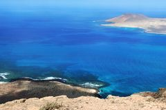 Shore of Canary Island Stock Photos