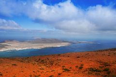 Shore of Canary Island Stock Photo