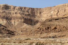 Shore of the Dead Sea - the sea of Sodom Stock Images