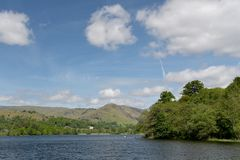Shore of Grasmere Stock Photography