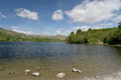 Shore of Grasmere Stock Image