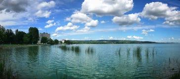 Shore. At Kesthely, Balaton Lake, Hungary Royalty Free Stock Photo