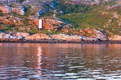 Shore of the Kola Bay Stock Photography