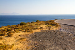 Shore in Kos, Greece. Royalty Free Stock Images