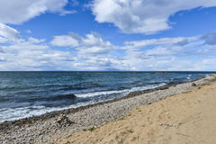 Shore of Lake Baikal Stock Photography