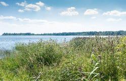 The shore of Lake Ladoga Stock Photo