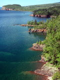 Shore of Lake Superior Stock Image