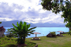 Shore of Lake Toba. Stock Images