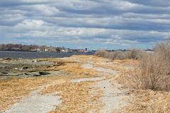 Shore line landscape Stock Photography