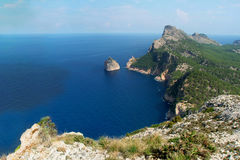 Shore of Majorca, Spain. Royalty Free Stock Photos