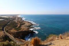 Shore of the Mediterranean Sea Royalty Free Stock Photo
