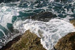 Shore of the Mediterranean Sea Royalty Free Stock Photos