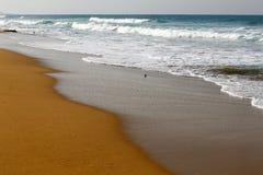 Shore of the Mediterranean Sea Stock Photo