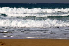 Shore of the Mediterranean Sea Royalty Free Stock Photography