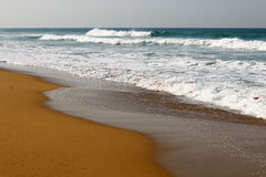 Shore of the Mediterranean Sea Stock Image