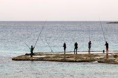 Shore of the Mediterranean Sea Stock Photos