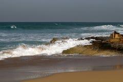 Shore of the Mediterranean Sea Stock Photography