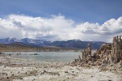 On the Shore of Mono Lake Stock Image