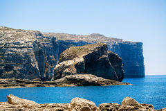 Shore near Azure Window Royalty Free Stock Image