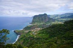 Shore near Porto da Cruz, Madeira island, Portugal Stock Photo