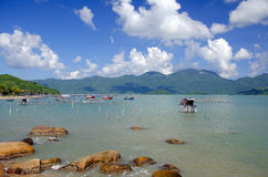 Shore in Nha Trang Royalty Free Stock Photography