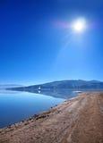 Shore at Orava reservoir, Slovakia stock photos