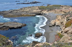 Shore at Point Lobos Stock Photography